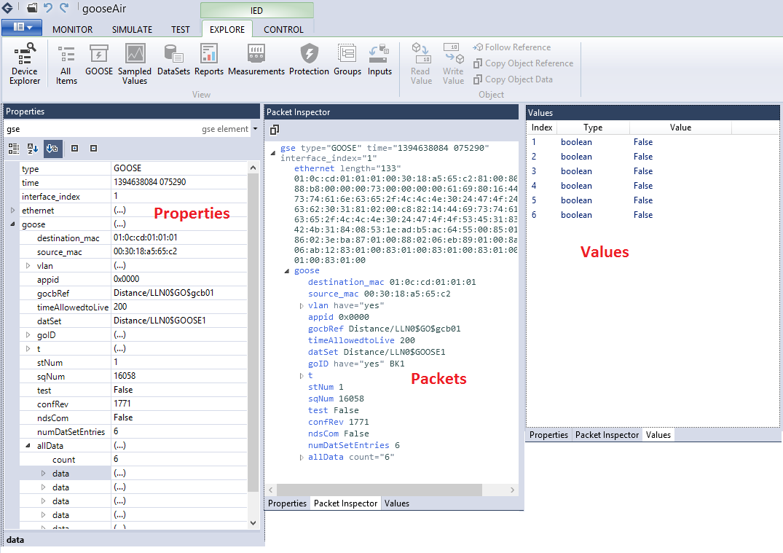 Smarter  Better  Faster  Grid Software  - GooseAir