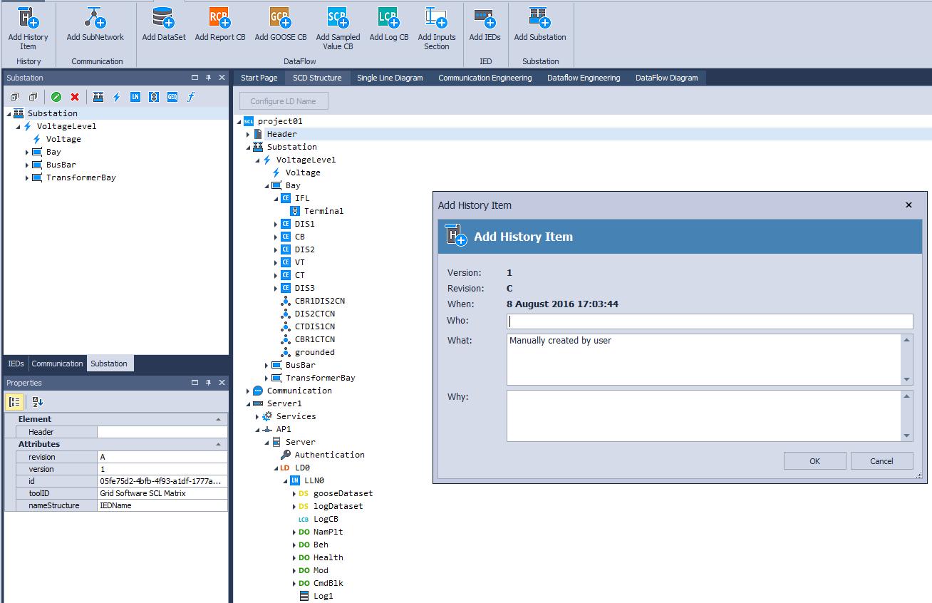 Smarter  Better  Faster  Grid Software  - SCL Matrix
